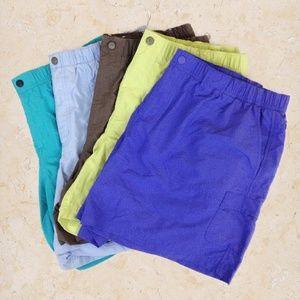 Columbia   L   Women's Cargo Hiking Shorts 5pc LOT